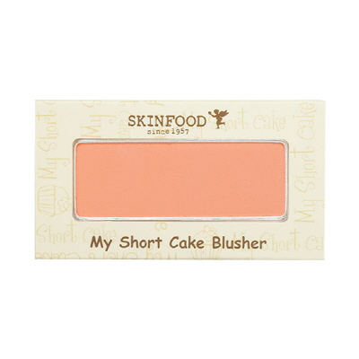 (เลิกผลิต) Skinfood My Short Cake Blusher บลัชออนโทนสีส้ม สีสวย ติดทนนาน