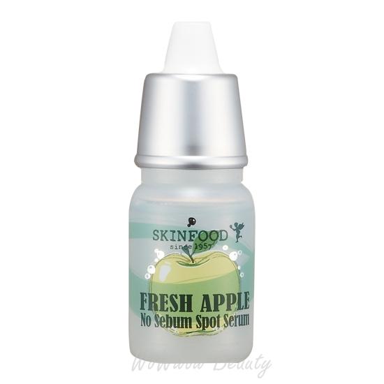 (Pre Order)Skinfood Fresh Apple No Sebum Spot Serum เซรั่มควบคุมความมัน กระชับรูขุมขนให้ผิวหน้าสวยใส