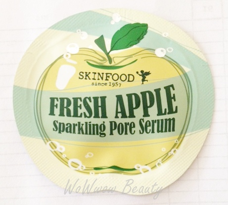 (หมดค่ะ)Tester Skinfood Fresh Apple Sparkling Pore Serum เซรั่มช่วยกระชับรูขุมขน ผิวเรียบเนียน