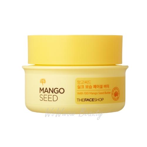 (Pre Order)The Face Shop Mango Seed Silk Moisturizing Facial Butter ครีมบำรุงผิวหน้าให้เนียนนุ่ม
