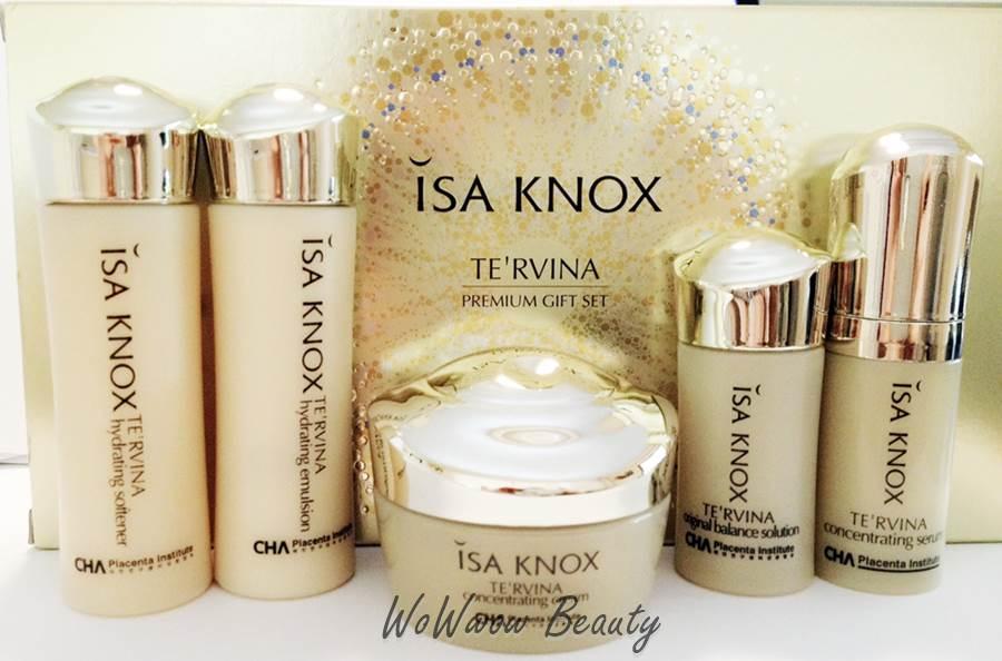 (หมดค่ะ) ISA KNOX TE\'RVINA Premium Gift Set เซ็ททดลอง สูตรหน้าเด้ง ลดริ้วรอย ฟื้นฟู หน้าตึงกระชับ