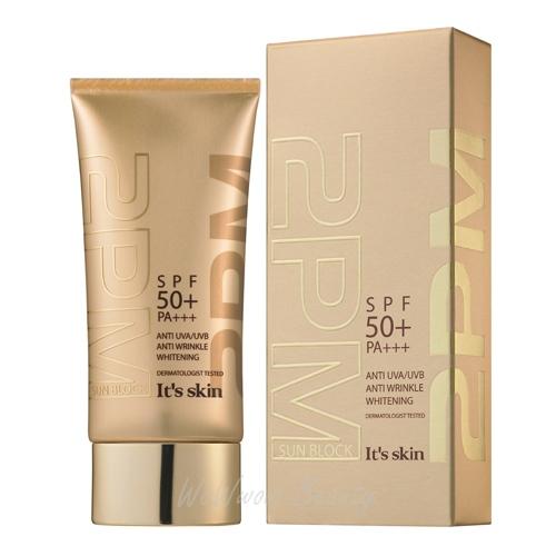 (Pre Order) It s Skin 2PM Sun Block SPF50 PA+++ ครีมกันแดดป้องกันริ้วรอย แสงแดด พร้อมมอบความขาวใส