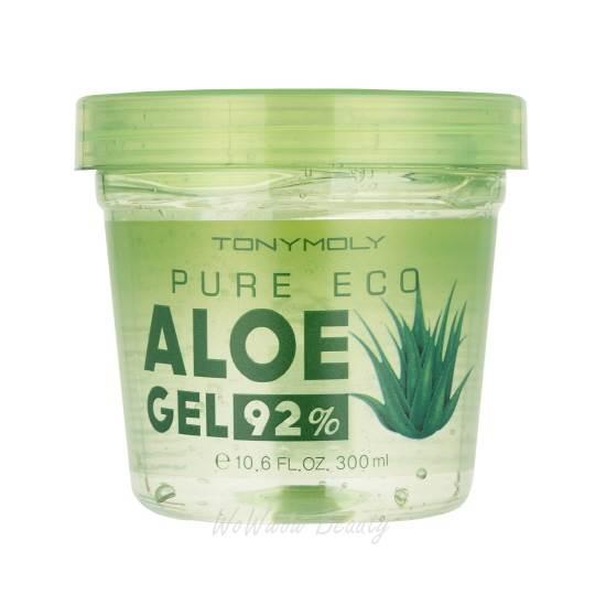 (Pre Order) Tony Moly Pure Eco Aloe Gel 300 ml. เจลว่านหางจระเข้สารพัดประโยชน์ ช่วยบำรุง ฟื้นฟูผิว