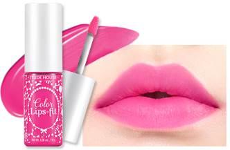 (Pre Order) Etude House Color Lips Fit สี PK002ลิปสติดเม็ดสีแน่นคมชัด สีสวยสดใส เนื้อลิควิด ทาง่าย