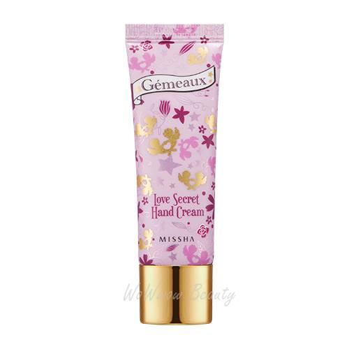 (Pre Order) Missha Love Secret Hand Cream (Cherry Blossom) 27 ml. ครีมทามือกลิ่นเชอร์รี่ หอมละมุน