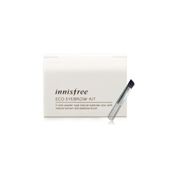 (Pre Order) Innisfree Eco Eyebrow Kit พาเลทเขียนคิ้ว 2 เฉดสีพร้อมแปรง ให้คิ้วสวยเป็นธรรมชาติได้ง่ายๆ