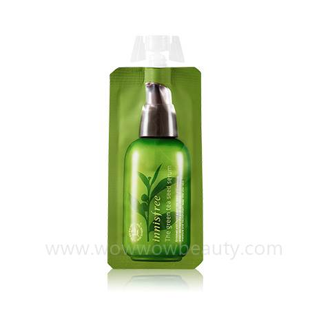 (Pre Order) Innisfree The Green Tea Seed Serum 5 ml เซรั่มสูตรเข้มข้น ช่วยเติมความชุ่มชื้น ลดริ้วรอย