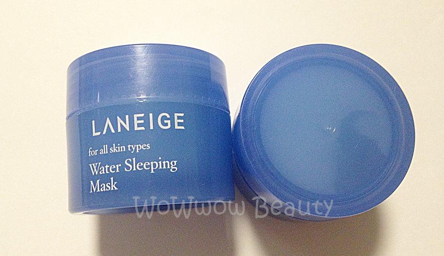 (หมดค่ะ) Tester Laneige Water Sleeping Mask (New) มาส์คเพิ่มความชุ่มชื้นให้หน้าเนียนนุ่ม สูตรใหม่