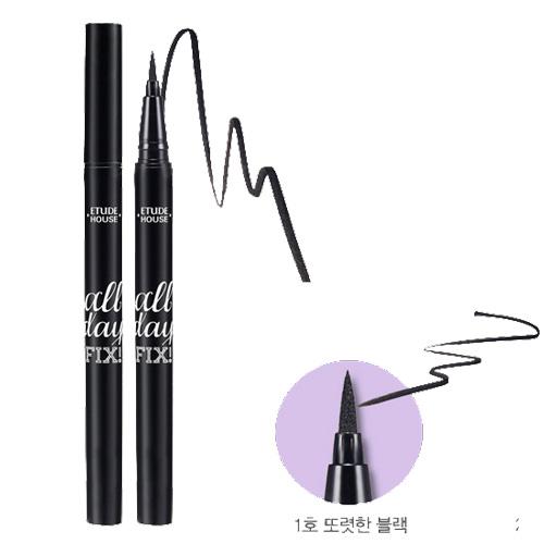(Pre Order) Etude House All Day Fix Pen Eyeliner อายไลเนอร์หัวเมจิก เขียนง่าย ให้เส้นคมชัด ติดทนนาน
