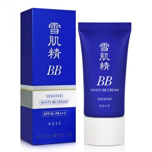 (หมดค่ะ) Kose Sekkisei White BB Cream spf40/PA+++ 30 g. บีบีครีมเพื่อผิวขาวใส ปกปิดผิว เนียน