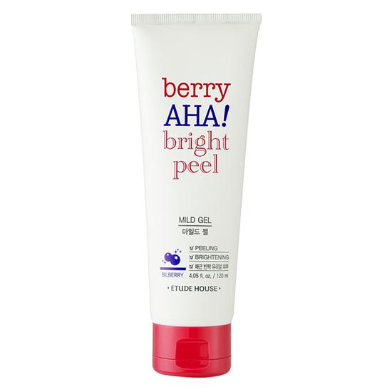 (Pre Order) Etude Berry AHA Bright Peel Mild Gel 120ml เจลขัดผิวหน้าเนื้อเนียนละเอียด เผยผิวขาวใส