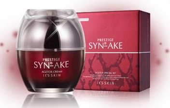 (Pre Order)It\'s skin Prestige Syn-Ake Agetox Cream สุดยอดครีมลดริ้วรอย ร่องรอยลึกดูจางลง ตึงกระชับ