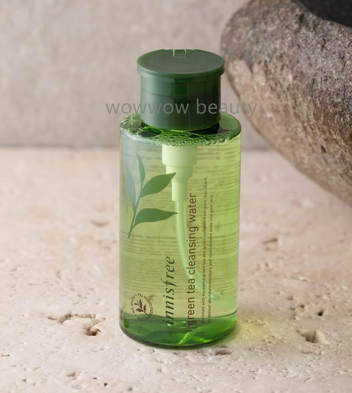 (Pre Order)Innisfree Green Tea Cleansing Water 300 ml. คลีนซิ่งชนิดน้ำใช้เช็ดทำความสะอาดเครื่องสำอาง