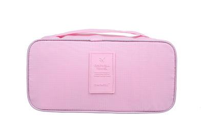(พร้อมส่ง) กระเป๋าจัดระเบียบ Bag In Bag สีชมพูอ่อน สำหรับใส่ชุดชั้นในโดยเฉพาะ ไม่ทำให้เสียทรง 1