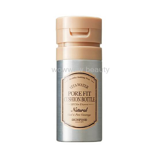 (Pre Order)  Skinfood Pore Fit Cushion Bottle SPF50 120ml.บีบีคูชั่นแบบขวดเน้นปกปิดรูขุมขน หน้าเนียน
