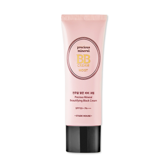 (Pre Order) Etude House Precious Mineral Beautifying Block Cream SPF50 (Moist) 45g. บีบีครีม