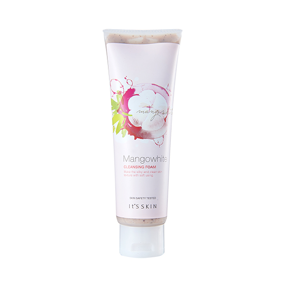 (Pre Order) It\'s Skin Mango White Cleansing Foam 150ml. โฟมล้างหน้าให้ผิวเนียนนุ่ม สะอาดใส