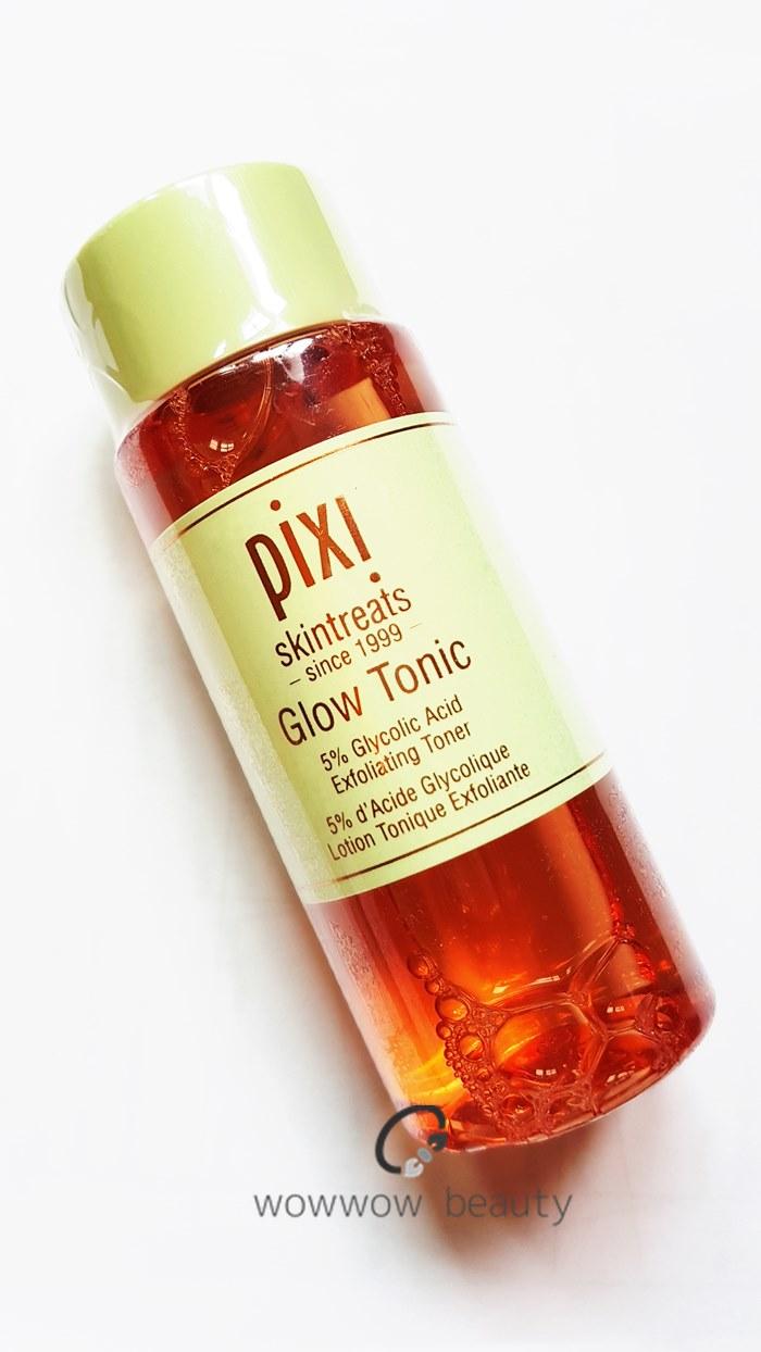 (พร้อมส่ง) Pixi Glow Tonic Exfoliating Toner 100ml. โทนเนอร์ตัวดัง ลดสิว หน้าขาวกระจ่างใส