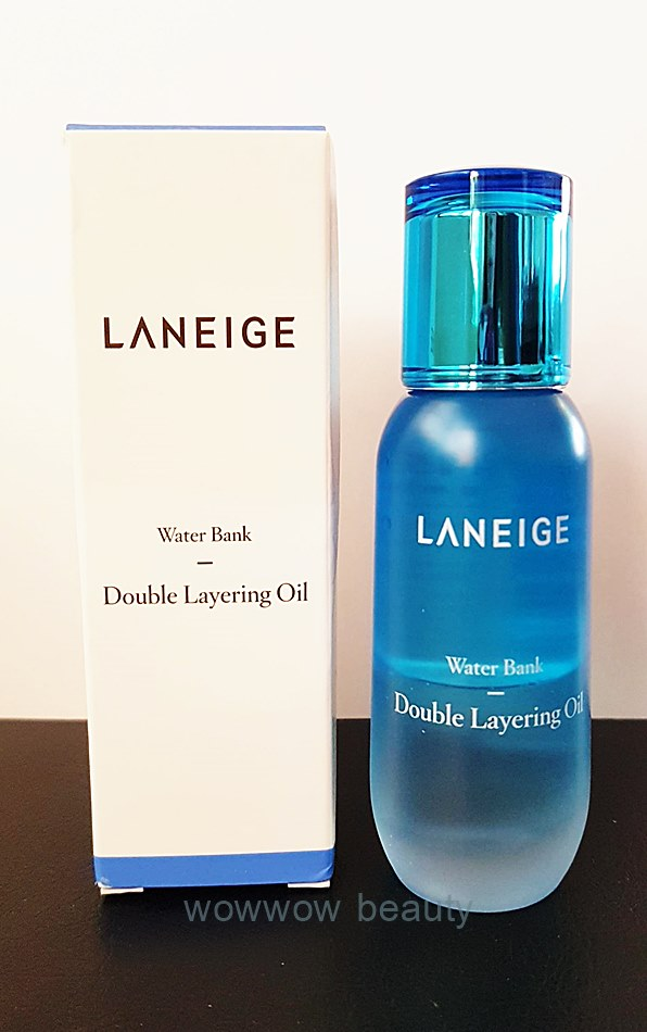 (Pre Orde) Laneige Water bank double layering oil 50 ml. ออยล์เซรั่ม เติมความชุ่มชื้นได้ล้ำลึก ใช้ดี