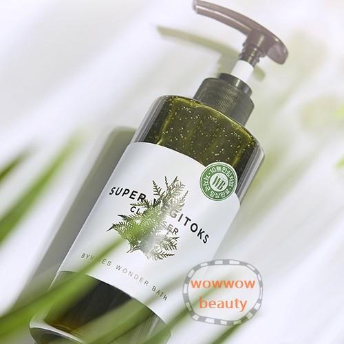 (หมดค่ะ) Wonder Bath Super Vegitoxs Cleanser 300 ml. คลีนซิ่งผักเป็นทั้งคลีนเซอร์ ช่วยดีท็อกซ์ผิว