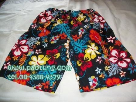 กางเกงขาสั้นลายดอก สไตล์เจเจ ขายถูก 1