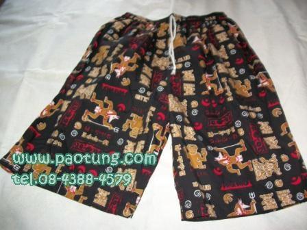 กางเกงขาสั้นลายดอก สไตล์เจเจ ขายถูก 4