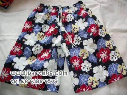 กางเกงขาสั้นลายดอก สไตล์เจเจ ขายถูก 5