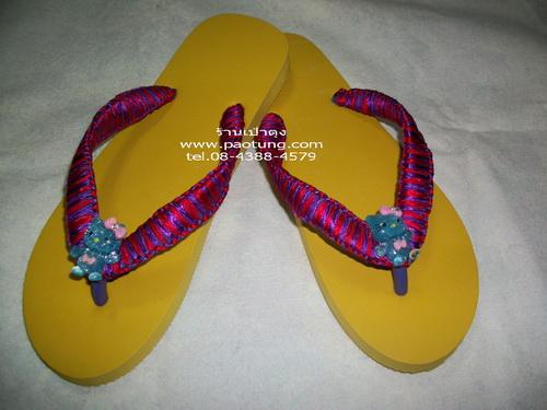 รองเท้าแตะ Hand Made