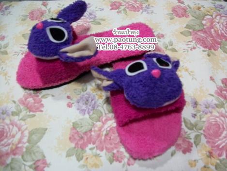รองเท้าแตะแฟชั่นหัวตุ๊กตาสติส stitch ขายส่ง