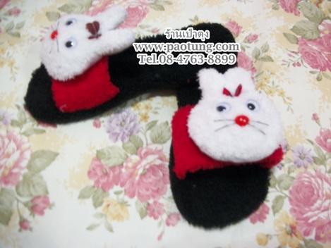 รองเท้าแตะประดับตุ๊กตากระต่ายขายถูก