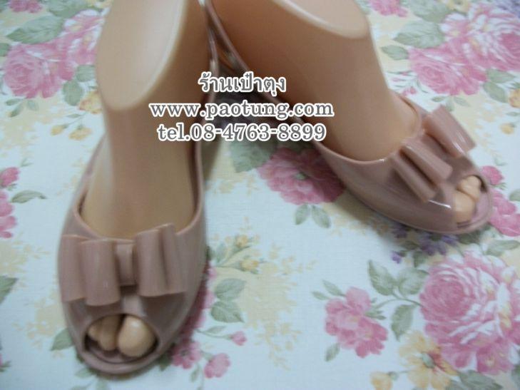 รองเท้าแฟชั่นประดับโบว์เก๋ สไตล์คัชชู