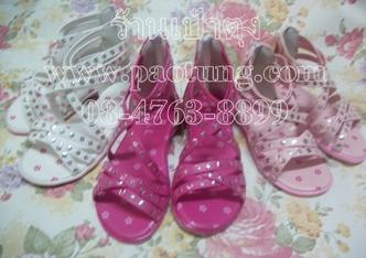 รองเท้าแฟชั่นหุ้มส้นเด็กหญิงขายถูก