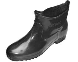 รองเท้าบู๊ทพีวีซีแบบสั้นกันน้ำสีดำ(Boot-sc)ขายถูก