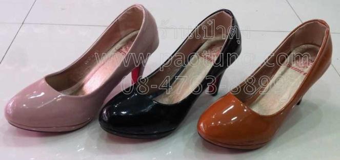 รองเท้าแฟชั่นส้นสูงขายส่ง/คู๋ละ 230 บาท(Gw1013)