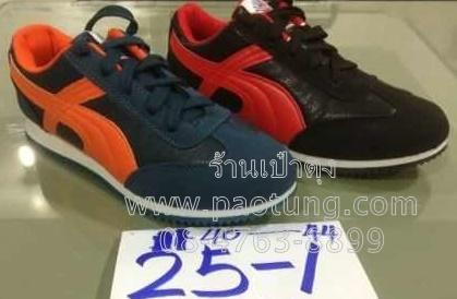 รองเท้าผ้าใบวัยรุ่นขายส่งยกโหล / คู่ละ 260 บาท