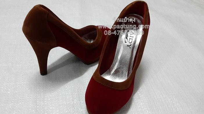 รองเท้าแฟชั่นส้นสูงคัชชู ขายส่ง ( 190 บาท/คู่)