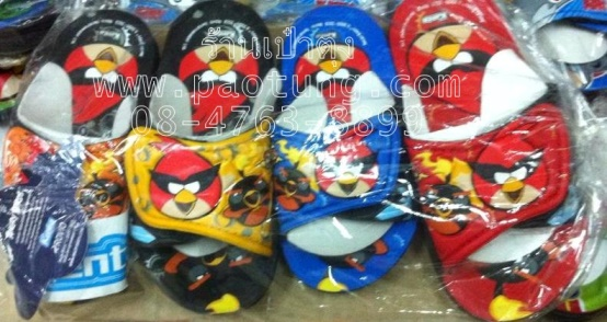 รองเท้าแตะเด็ก Angry Birds แองกี้เบิร์ด ขายส่ง