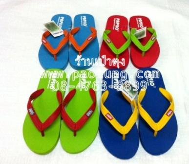 รองเท้าแตะฟองน้ำแบบหูหนีบของผู้ใหญ่หูสลับสีขายส่ง(Papilo ) (PPL-M05)