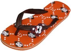 รองเท้าแตะฟองน้ำแบบหูหนีบสกรีนลาย ยี่ห้อ Pradoขายส่ง