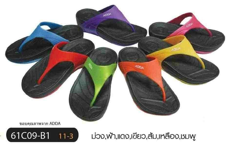รองเท้าแฟชั่นสไตล์ fitflop ยี่ห้อ ADDA ขายส่ง