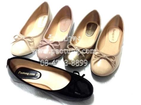 รองเท้าแฟชั่นคัชชูสั้นเตี้ยผู้หญิงขายส่ง