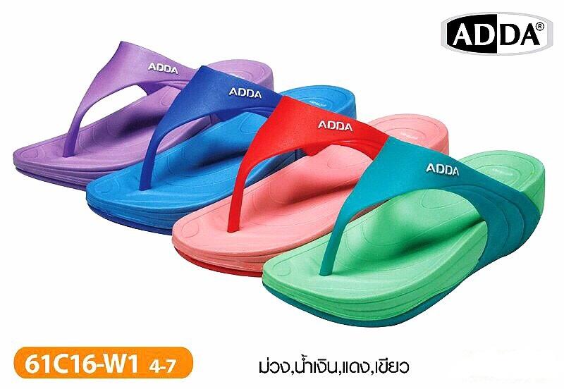รองเท้าแตะ ADDA แบบหูคีบของผู้หญิงขายส่ง