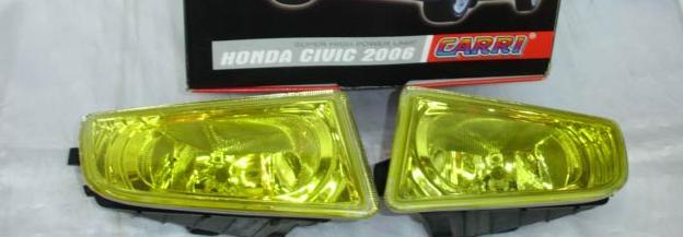 ไฟสปอร์ตไลท์ Civic\'06 โคมเหลือง