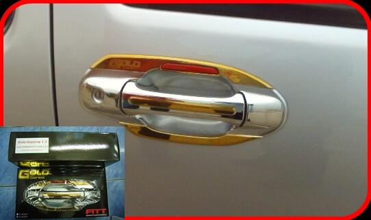 กันรอยมือเปิด D-max Gold Series 4 dor