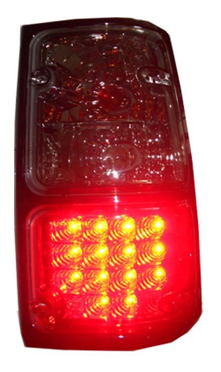 โคมไฟท้าย LED Isuzu TFR  (Red, smoke)