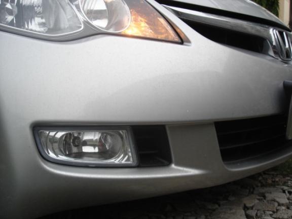 ไฟสปอร์ตไลท์ Civic\'06 โคมขาว งานจีน