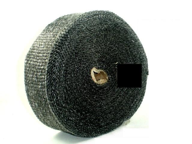ผ้าพันท่อเฮดเดอร์ Sard  Carbon ดำ 15 M ทน 1,200C