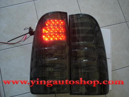 โคมไฟท้าย LED Vigo โคมดำ (ยี่ห้อEagle Eye)