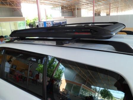 แร็คหลังคา 100X160 Cm สีดำ (Carryboy รุ่น CB- 550 )