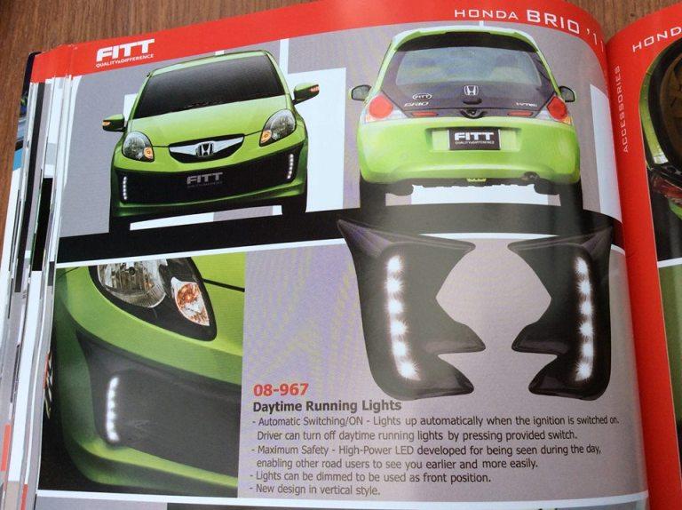 ไฟ DayLight  Fitt  For Honda Brio